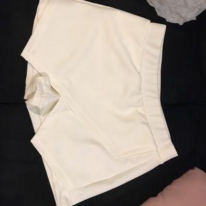 Pants - Ivory Wrap Skort